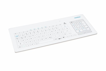 Cleankeys tastatur i glass - USB